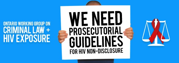 Ontario Working Group on Criminal Law and HIV Exposure
